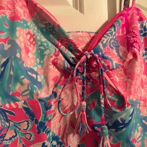 8897e2628d3ed Lilly Pulitzer Swim | Nwt Margarete Cover Up Bathing Suit Aquadesiac ...
